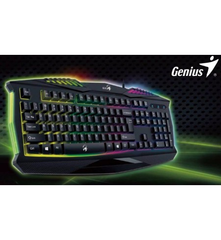 Teclado Genius Scorpion K220 Gaming Retroiluminado