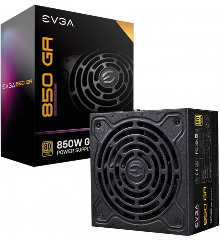 Fuente EVGA Supernova GA Plus Gold 850Wts Full Modular