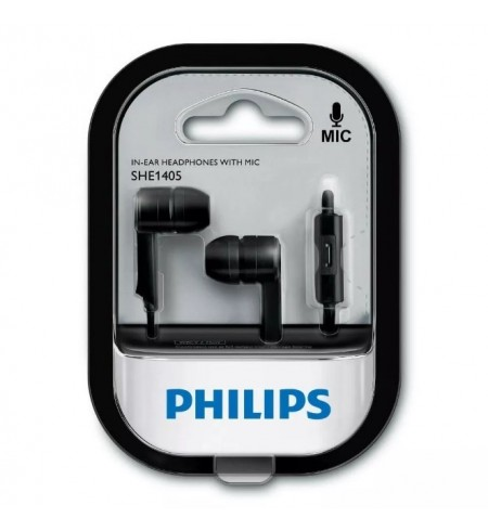 Auriculares Philips SHE1405BKS/27 Negros